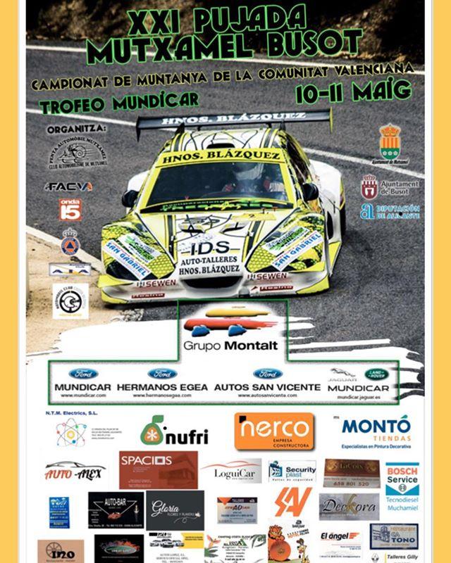 XXI Rally Subida Mutxamel Busot 2019