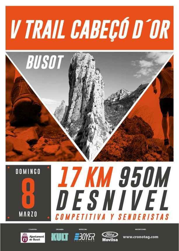 V Trail Cabeçó d'Or de Busot 2020